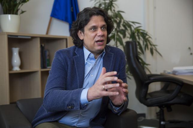 Deutsch Tamás, a Digitális Jólét Programért felelős miniszterelnöki biztos Fotó: Polyák Attila - Origo